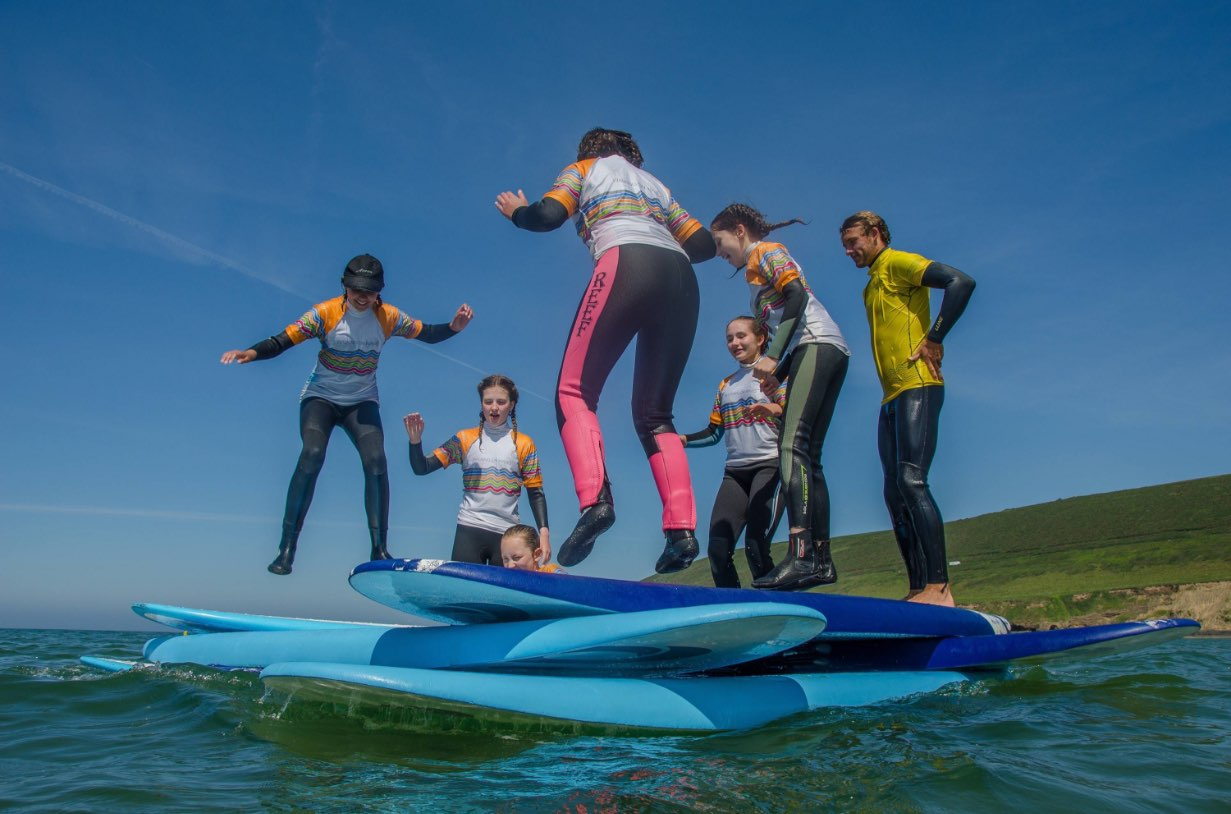 Croyde Bay surf school and shop