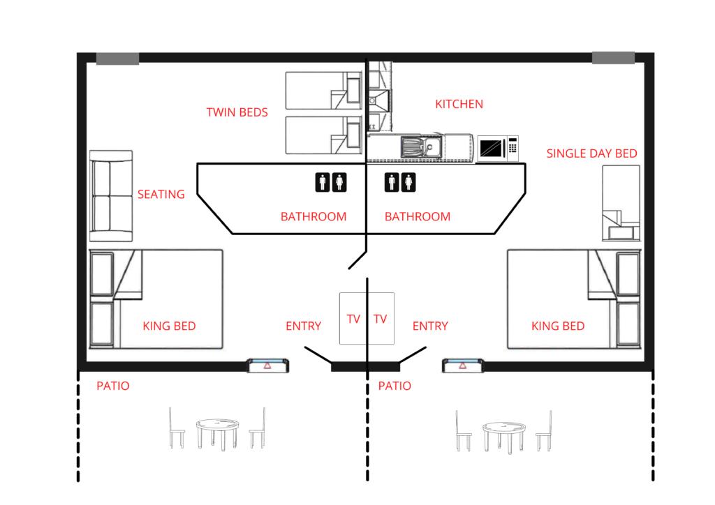 Suites Floor Plan