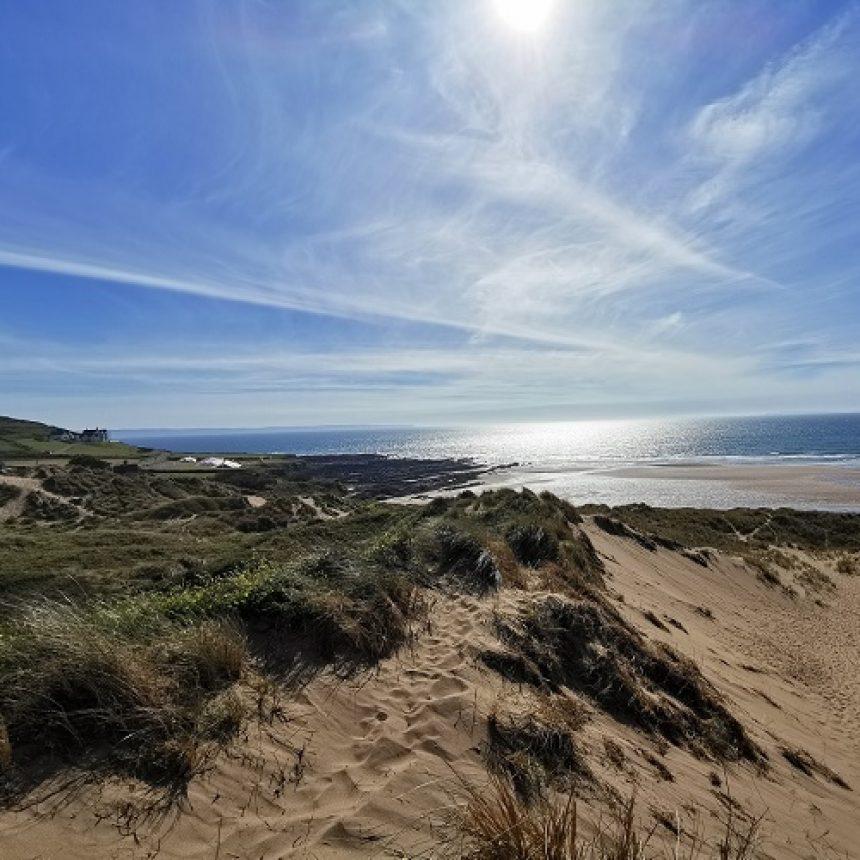 view of croyde dunes